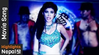 Urbashi Ko Majja - Item Song   New Nepali Movie KAMPAN   Rajesh Dhungana, Rajendra Basnet