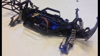 Traxxas Slash 4x4 - how to convert to LCG detailed level 1 upgrade