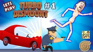 Lets Play TURBO DISMOUNT! FGTEEV Duddy Runs from the Cops! (Part 1 Gameplay)