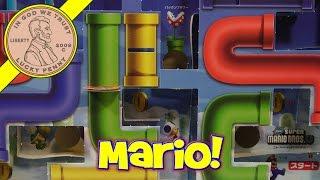 Super Mario Brothers U Game Board! CoroCoro Comic Magazine