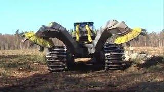 Scarifier Bracke Forest T26 a   Disc trencher