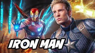 Avengers Infinity War Deleted Scene - Iron Man Avengers 4 Foreshadowing Explained
