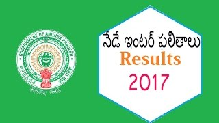 Andhra Pradesh inter1st 2nd Year Results 2017 released today ap Inter Results 2017