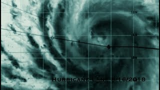 """Hurricane Lane RAPIDLY intensifying in WORLD RECORD territory - """"Patricia 2015"""""""