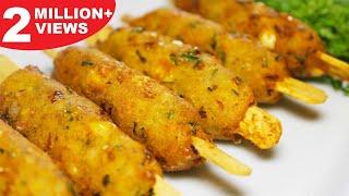 Crispy Corn Kebabs   Instant Snacks Recipe   Best Indian Appetizer Recipe   Kanak's Kitchen