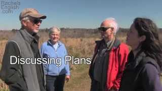 Making Plans - English Conversation - Ben Franklin Exercise
