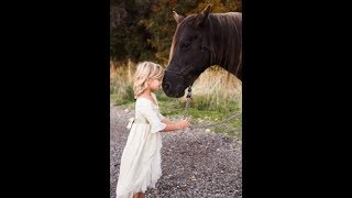 🐴 HORSE RIDING FOR THE FIRST TIME | SHE WAS NERVOUS