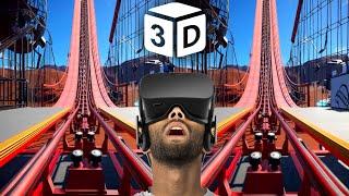 VR Video 3D VR Roller Coaster 3D SBS Star Wars VR for VR BOX 3D not 360 VR