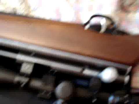 Testeo del silenciador para rifle.