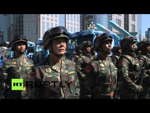 watch LIVE: Beijing holds WWII 70th anniversary military parade
