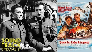 Clint Eastwood; Richard Burton |Where Eagles Dare (1968) | On Location