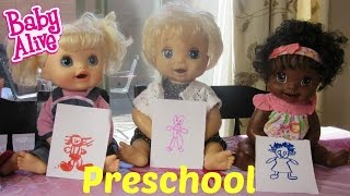 BABY ALIVE Preschool with the Fab 5!  By the Baby Alive Channel