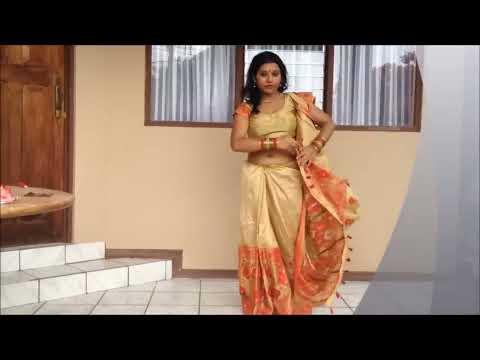 Xxx Mp4 Draping A Mekhla Chador Like A Saree Half Saree Look In Fashion 3gp Sex