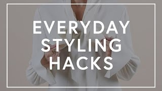 Everyday Styling Hacks | The Zoe Report by Rachel Zoe
