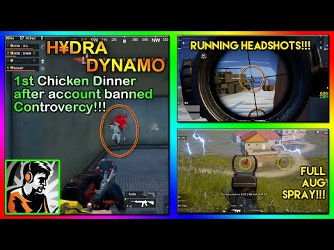 DYNAMO 1st Chicken Dinner after Account Banned CONTROVERCY Highlight 21
