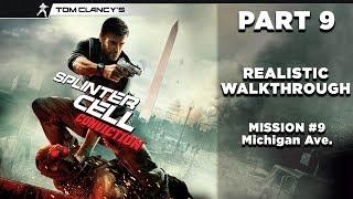 Splinter Cell: Conviction | Realistic Walkthrough | Stealth | Part 9