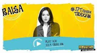 Raisa - Usai Di Sini #LIVE di HUT 17 Trax FM