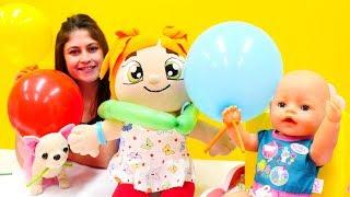 Barışma parti yapıyoruz! #Eğitici çocuk videosu. Ayşe, bebek Gül, Loli ve Lili ile #çocukoyunları!