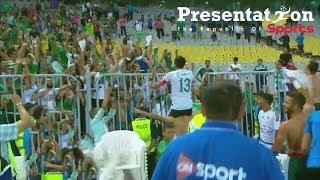 ملخص وأهداف مباراة المصري 2 - 0 الزمالك | نصف نهائي كأس مصر 2017