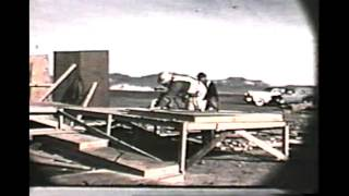 Nuclear Blast Effect on mannequins cars and houses-Operation Doorstep and Operation Cue  -1953