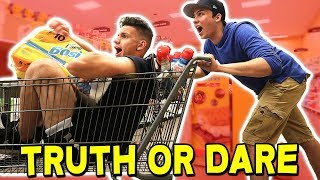 MOST EXTREME TRUTH OR DARE... WITH MOOSECRAFT & RYGUYROCKY! (Minecraft Challenge Accepted)
