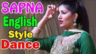SAPNA | New Romantic Song 2017 | English Medium | Sapna Haryanvi song Dance 2017 | Sapna Dance 2017