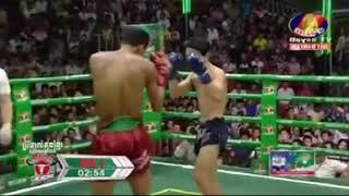 Chan Bunhern vs Natkorkesanon (Thai) Bayon Khmer boxing 18/11/2018