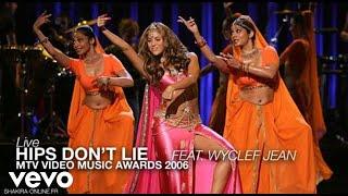 Shakira ~ Hips Don't Lie ft. Wyclef Jean (Live at 2006 MTV Awards)ᴴᴰ