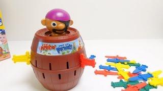 Tomy Super Pirate - Pop Up Pirate Game
