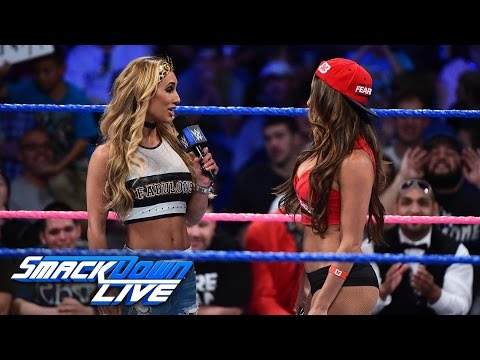 Carmella says John Cena is the only reason Nikki Bella is a success: SmackDown LIVE, Oct. 18, 2016