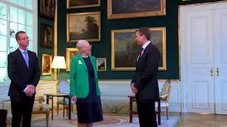 Dronning Margrethe overraskede astronaut Andreas Mogensen