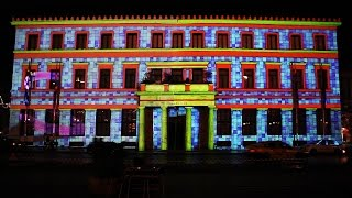 Athens City Hall (xmas 3D video mapping)