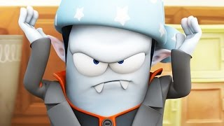 Funny Animated Cartoon | Spookiz Cula Is Not Happy 스푸키즈 | Cartoon for Children