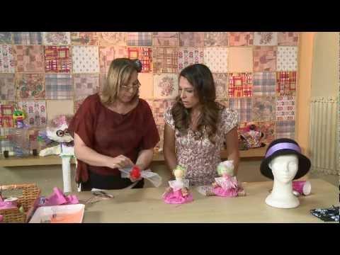 Vida Melhor Artesanato Boneca de sucata Marisa Loscher