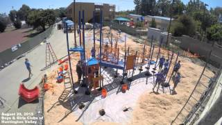 Pacific Life KaBOOM! Playground Build - Boys & Girls Clubs of Huntington Valley
