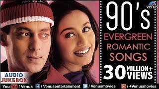 90's Evergreen Romantic Songs | Most Romantic Hindi Songs | Audio Jukebox | Hindi Love Songs