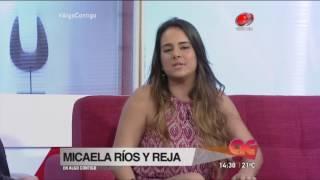 Algo Contigo - Micaela Ríos y Reja 13 de Octubre de 2016