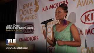 Jamie-Grace Named New Artist of The Year - 2012 Dove Awards
