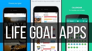 These apps will help you follow your life goals