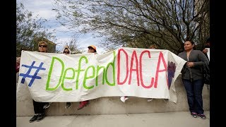 News Wrap: Trump administration must take new DACA applications, judge rules