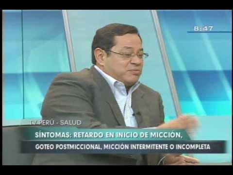 Prostata Perú Vídeo. Dr Luis Susanibar. Los cuidados de la próstata