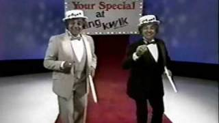 King Kwik Commercial Montage (1970's)