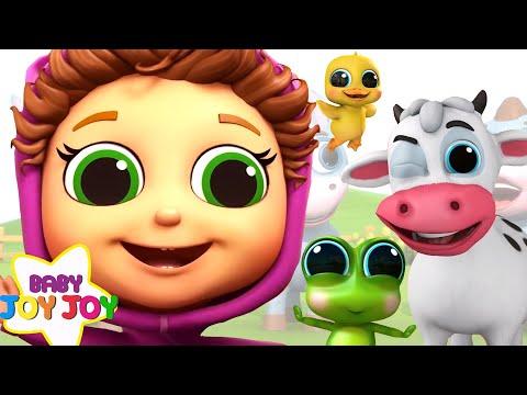 Educational Nursery Rhymes 120 Minutes!   Baby Songs with Baby Joy Joy