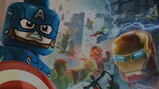 LEGO Marvel Vengadores Pelicula Completa Español - Todas Las Cinematicas - Game Movie 1080p