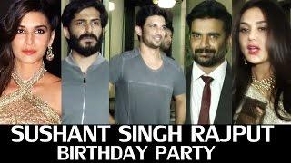 Sushant Singh Rajput Birthday Party - Full HD Video - R Madhavan, Kriti Sanon, Preety zinta