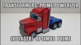 Transformers Prime: Powerizer Voyager Optimus Prime Review!