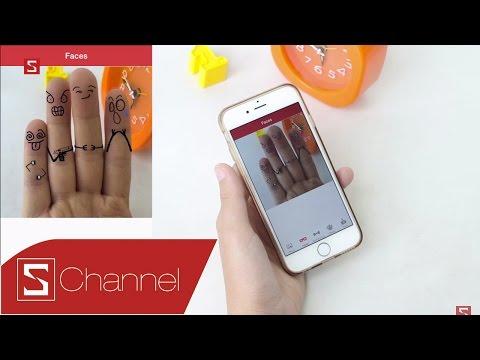 Schannel - Cool Finger Faces: Trang điểm ngộ nghĩnh cho 5 ngón tay xinh