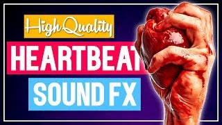Heartbeat Sound Effect ❤️ Slow, Fast, Creepy, Irregular, Normal - Free Download I No Copyright