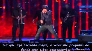 Eminem Ft Rihanna - The monster Live | Sub Español | Concert for valor 2014