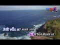 Karaoke Nắng ấm quê hương - Hoài Nam Karaoke HD